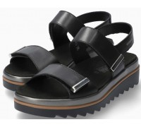 Mephisto DOMINICA Women Sandal Smooth Leather - Black