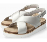 Mobils by Mephisto Tally Women Sandal Smooth Leather - Wide Fit - Beige