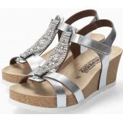 Mephisto Lio Spark Women Sandal Leather - Metallique