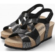 Mephisto Lyla Women Sandal Patent Leather - Black