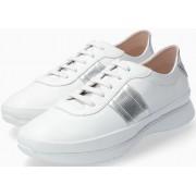 Mephisto Merania Smooth Leater Sneaker for Women - White