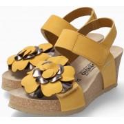 Mephisto Luciana Women Sandal Nubuck - Yellow