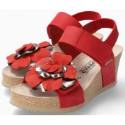 Mephisto Luciana Women Sandal Nubuck - Red