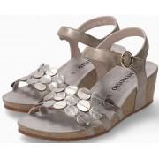 Mephisto Matilde Women Sandal Smooth Leather - Dark Taupe
