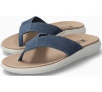 Mephisto CHARLY Men's Sandal Suede - Blue