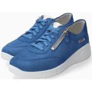 Mephisto Ivonia suede sneaker for women - blue