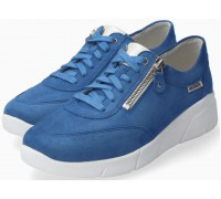 Mobils by Mephisto Ivonia Suede Sneaker For Women - Wide Fit - Blue