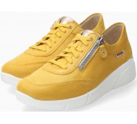 Mobils by Mephisto Ivonia Suede Sneaker For Women - Wide Fit - Yellow