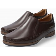 Mephisto Roby brown smooth leather slip-on shoe for men