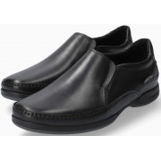 Mephisto Roby black smooth leather slip-on shoe for men
