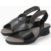 Mephisto Phara Women Sandal Smooth Leather - Black