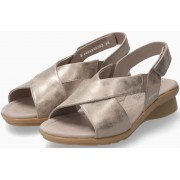 Mephisto Phara Women Sandal Smooth Leather - Grey