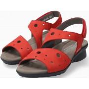 Mephisto Phiby Perf Women Sandal Nubuck - Red