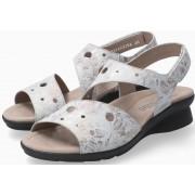 Mephisto Phiby Perf Women Sandal Nubuck - Grey