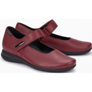 Mephisto Nyna Women Ballet Pumps Smooth Leather - Red