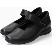 Mephisto Nyna Women Ballet Pumps Smooth Leather - Black