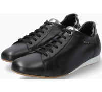 Mephisto Bessy smooth leather sneaker for women - black