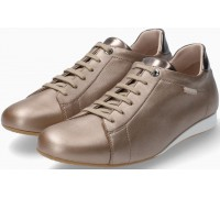 Mephisto Bessy smooth leather sneaker for women - grey