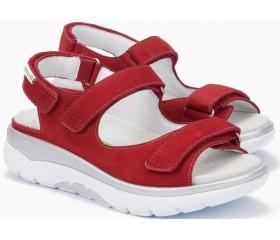 Mephisto Norine Women Sandal Suede - Red