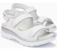 Sano by Mephisto Norine Women Sandal Smooth Leather - White