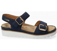 Mobils by Mephisto Tarina Women Sandal Nubuck - Wide Fit - Blue