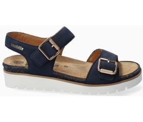 Mephisto Tarina Women Sandal Nubuck - Blue