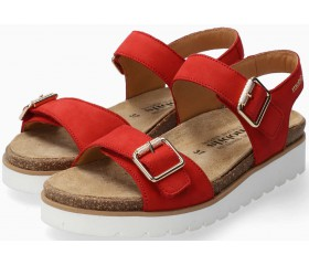 Mobils by Mephisto Tarina Women Sandal Nubuck - Wide Fit - Red