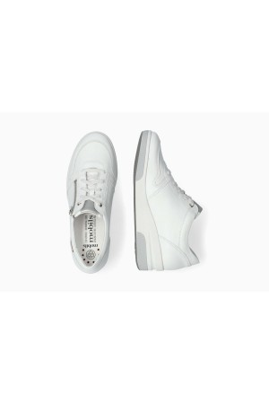 Mephisto Tulia white smooth leather sneaker for women