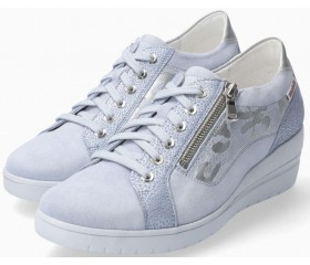 Mephisto Patsy blue suede sneaker for women