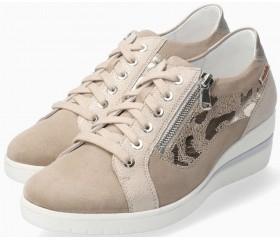 Mephisto Patsy beige suede sneaker for women