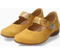 Mobils by Mephisto Fabienne yellow nubuck shoe