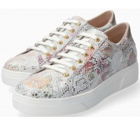 Mephisto Fanya Patent Leather Pink Sneaker for Women
