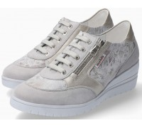 Mobils by Mephisto PATRIZIA grey suede lace shoe for women