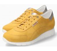 Mephisto Dorothe nubuck lace shoe women - yellow
