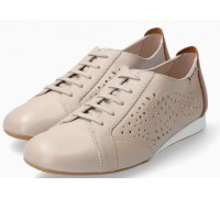 Mephisto Belisa leather laceshoe for women beige