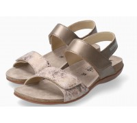 Mephisto AGAVE Women Sandal Smooth Leather Grey