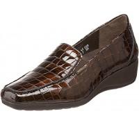 Mephisto CELKA hazelnut croco patent brown leather