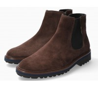 Mephisto BENSON suede chelsea boot for men - dark brown