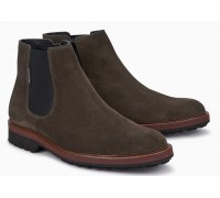 Mephisto Benson grey suede chelsea boot for men