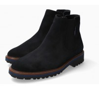 Mephisto Benson blue suede chelsea boot for men