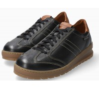 Mephisto JUMPER black leather lace up shoes for men