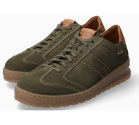 Mephisto JUMPER suede lace up shoes for men green