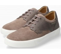 Mephisto Calisto suede lace-up shoe for men grey