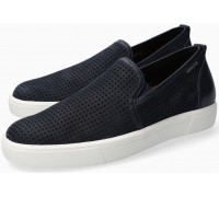 Mephisto Cliff blue nubuck slip-on shoe for men