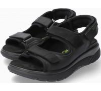 Sano by Mephisto Wilfried Men's Sandal - Wide Fit - Black