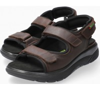 Sano by Mephisto Wilfried Men's Sandal - Wide Fit - Brown