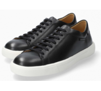 Mephisto Cristiano smooth leather lace-up shoe for men black