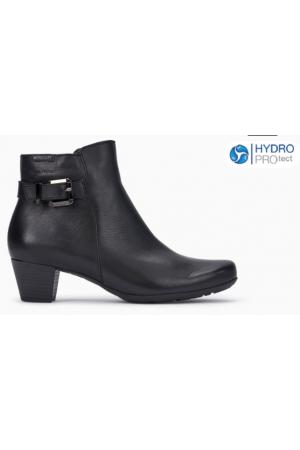 Mephisto Marilia leather ankle boots women - Black