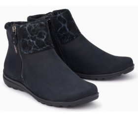Mephisto Catalina leather ankle boots women - Blue