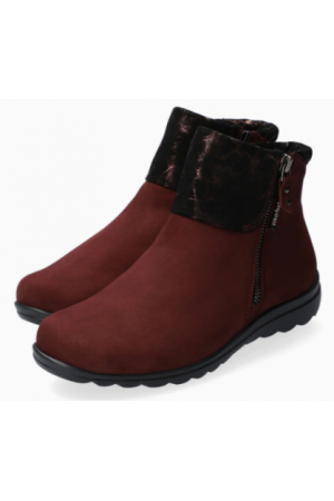 Mephisto Catalina leather ankle boots women - Red